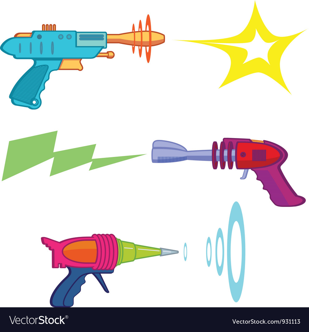 Ray gun vector | Price: 1 Credit (USD $1)