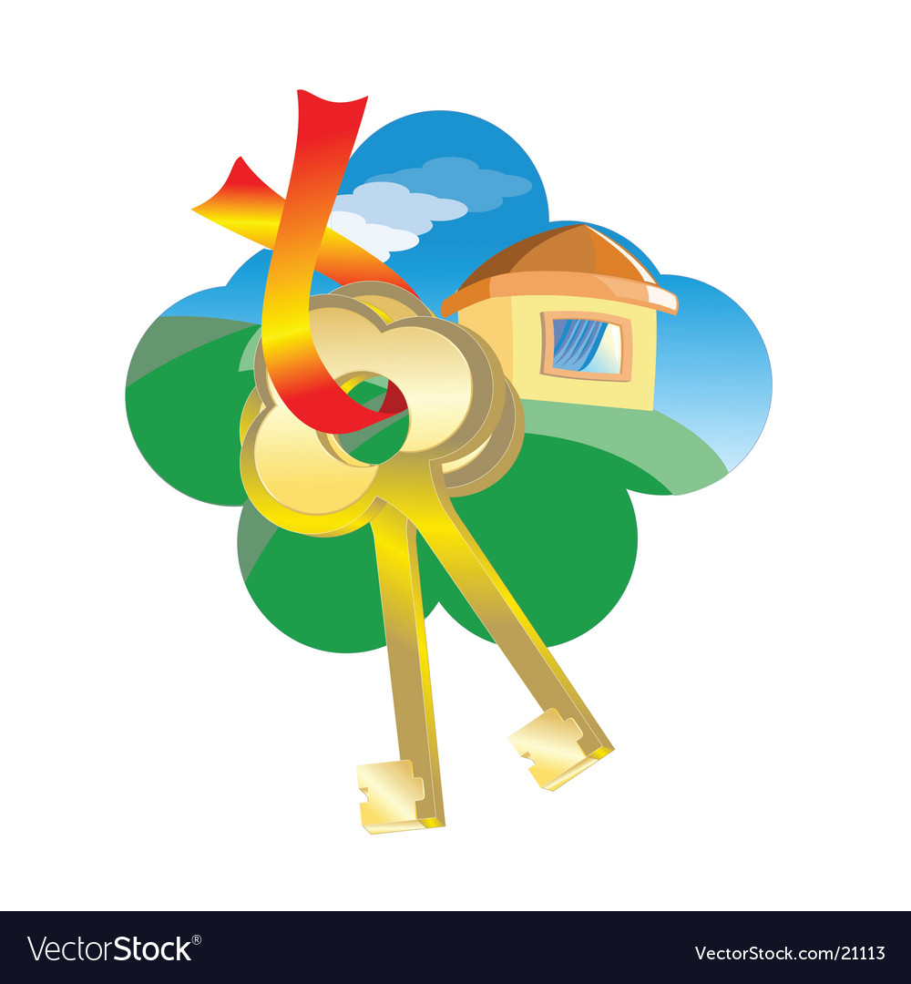 Sell house business concept vector | Price: 1 Credit (USD $1)