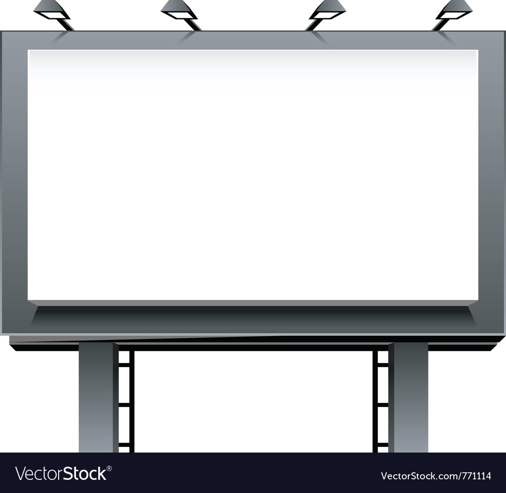 Billboard vector | Price: 1 Credit (USD $1)