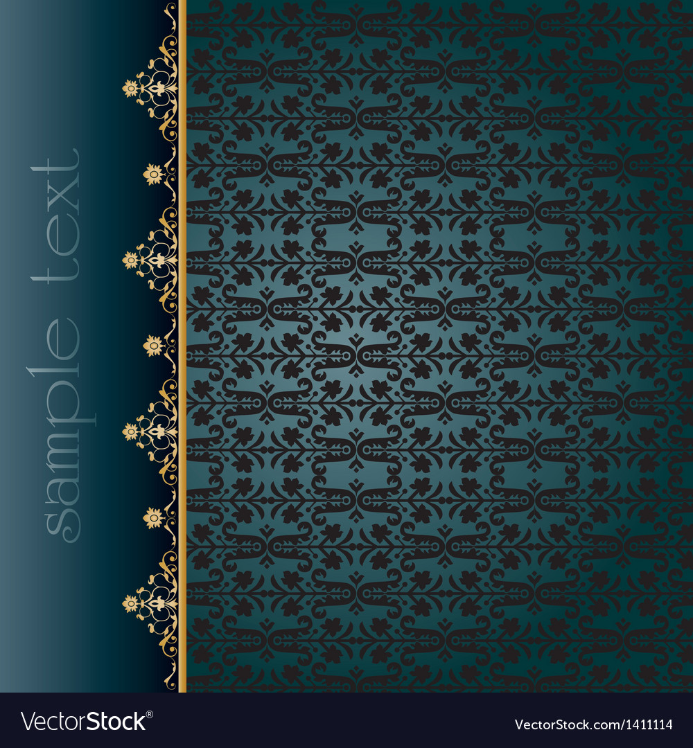 Traditional ottoman seamless pattern vector | Price: 1 Credit (USD $1)