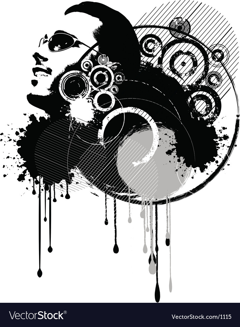 Abstract grunge vector | Price: 1 Credit (USD $1)