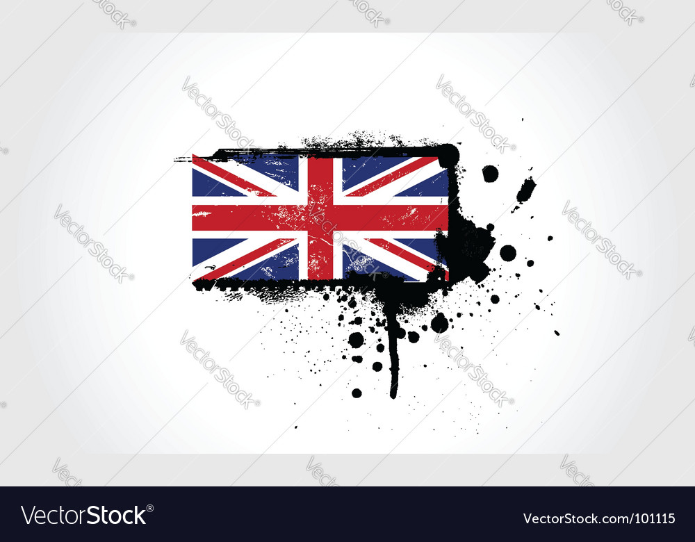 Britain flag vector | Price: 1 Credit (USD $1)