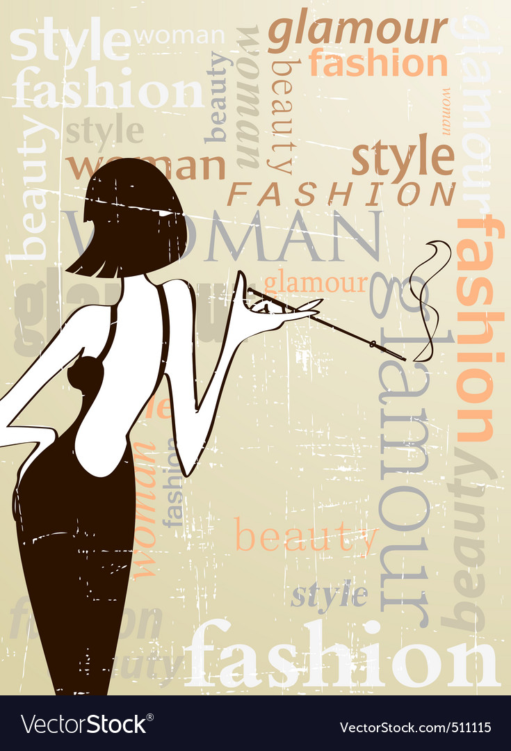 Fashion poster vector | Price: 1 Credit (USD $1)