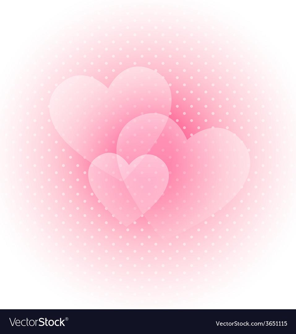 Light valentines background vector | Price: 1 Credit (USD $1)