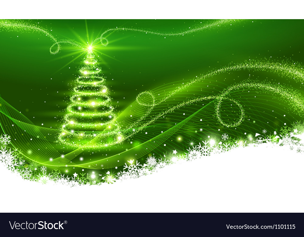 Magic christmas tree vector | Price: 1 Credit (USD $1)