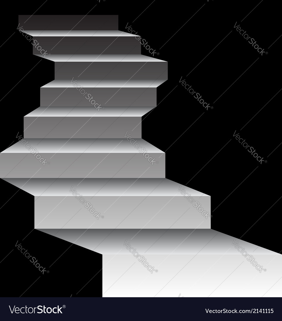 Mysterious stairs vector | Price: 1 Credit (USD $1)