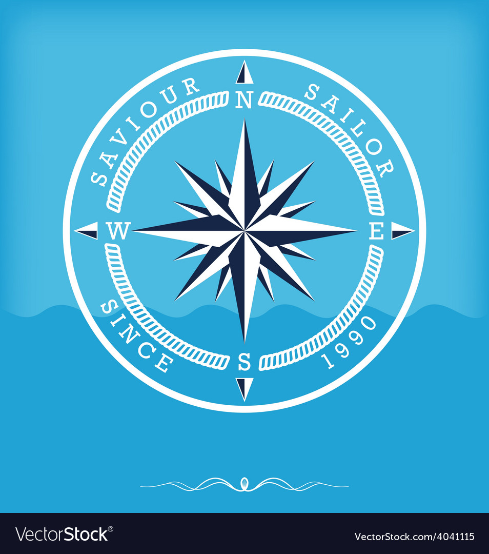 Wind rose old vector | Price: 1 Credit (USD $1)