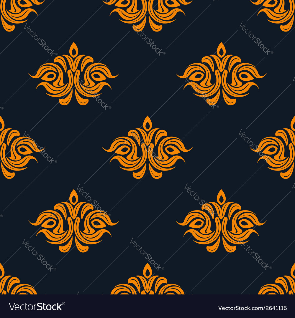 Arabesque damask style seamless pattern vector | Price: 1 Credit (USD $1)