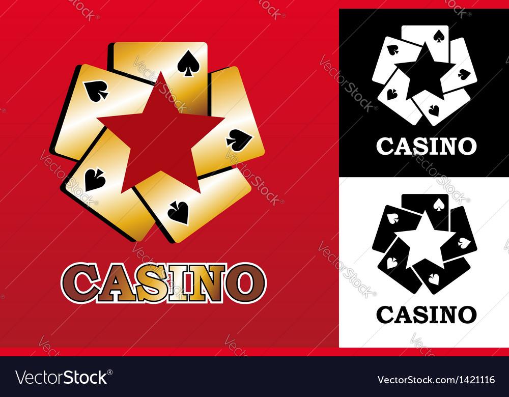 Casino logo vector | Price: 1 Credit (USD $1)