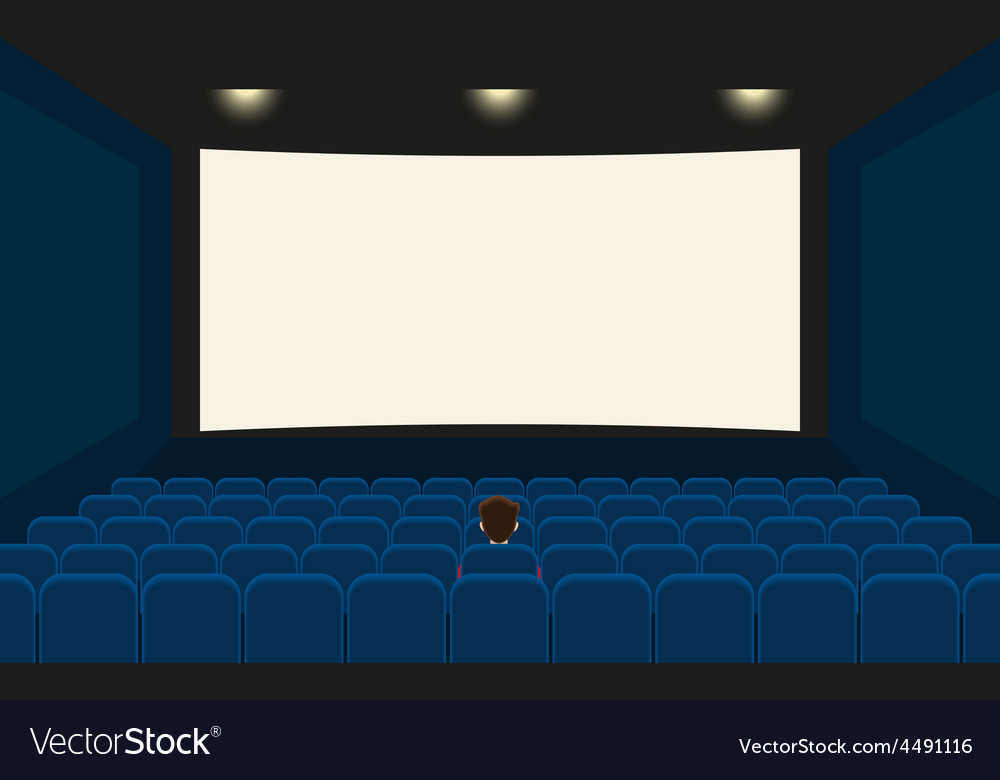 Empty cinema vector | Price: 1 Credit (USD $1)