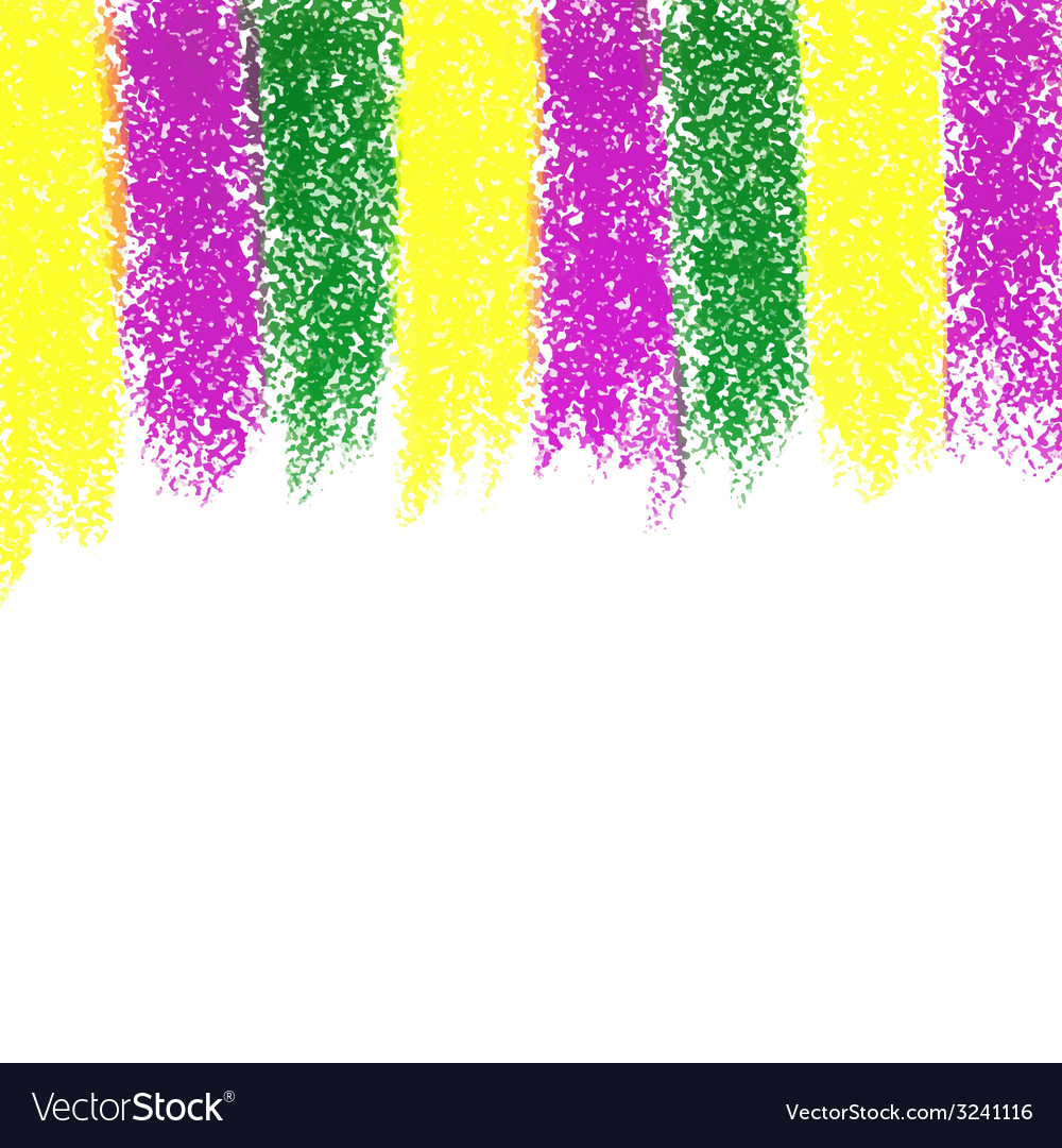 Mardi gras pastel crayon background vector | Price: 1 Credit (USD $1)