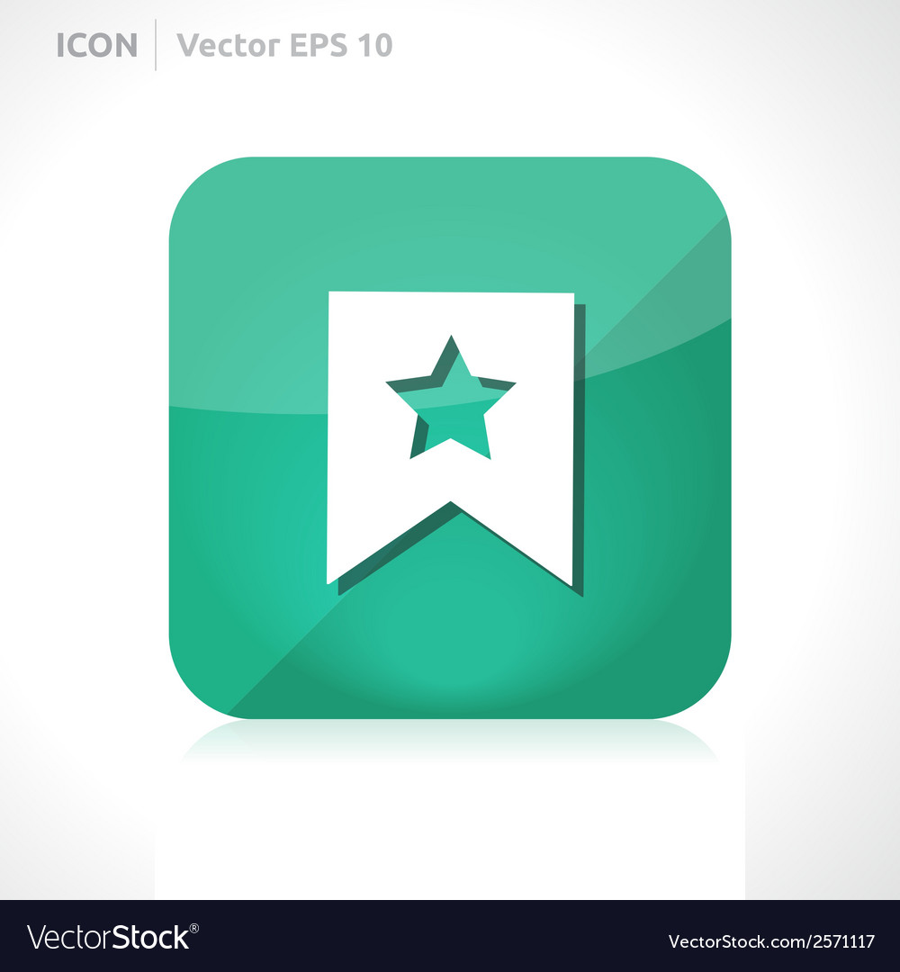 Favourite icon vector | Price: 1 Credit (USD $1)