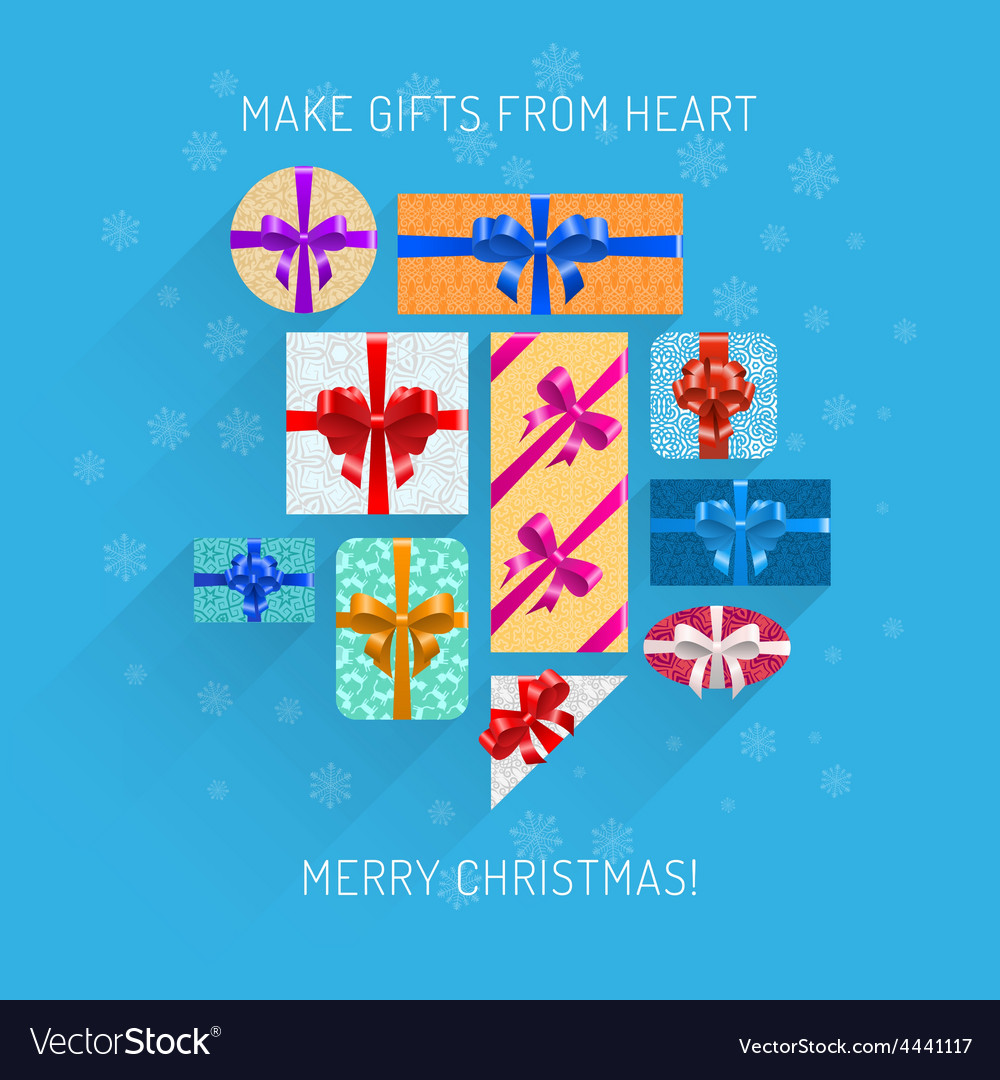Gifts in beautiful packing vector   Price: 1 Credit (USD $1)