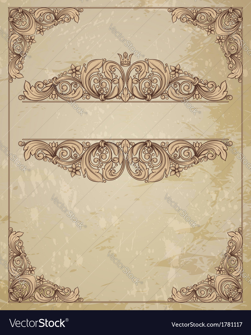 Vintage and certificate vector   Price: 1 Credit (USD $1)
