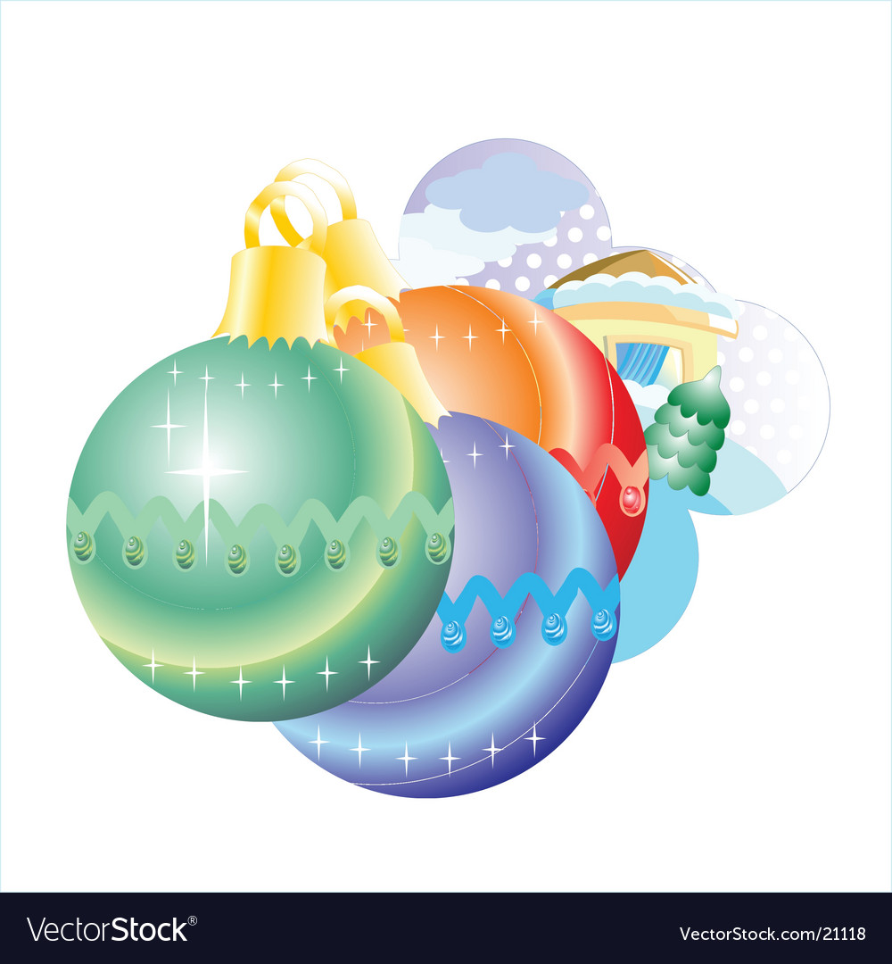 Holiday decoration vector | Price: 1 Credit (USD $1)