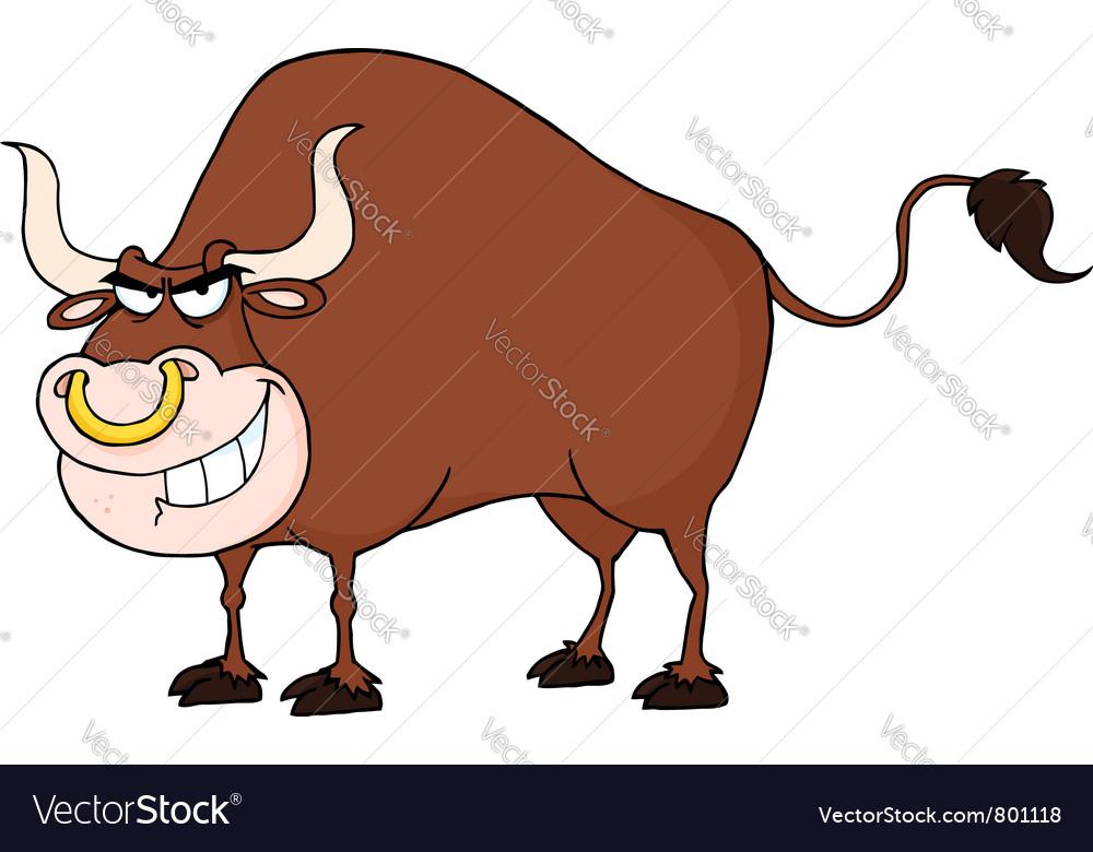 Tough bull vector   Price: 1 Credit (USD $1)