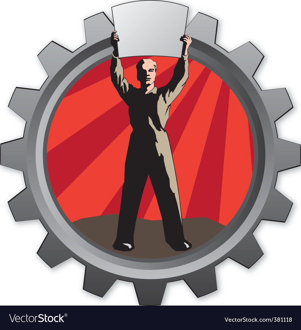 Worker icon vector | Price: 1 Credit (USD $1)