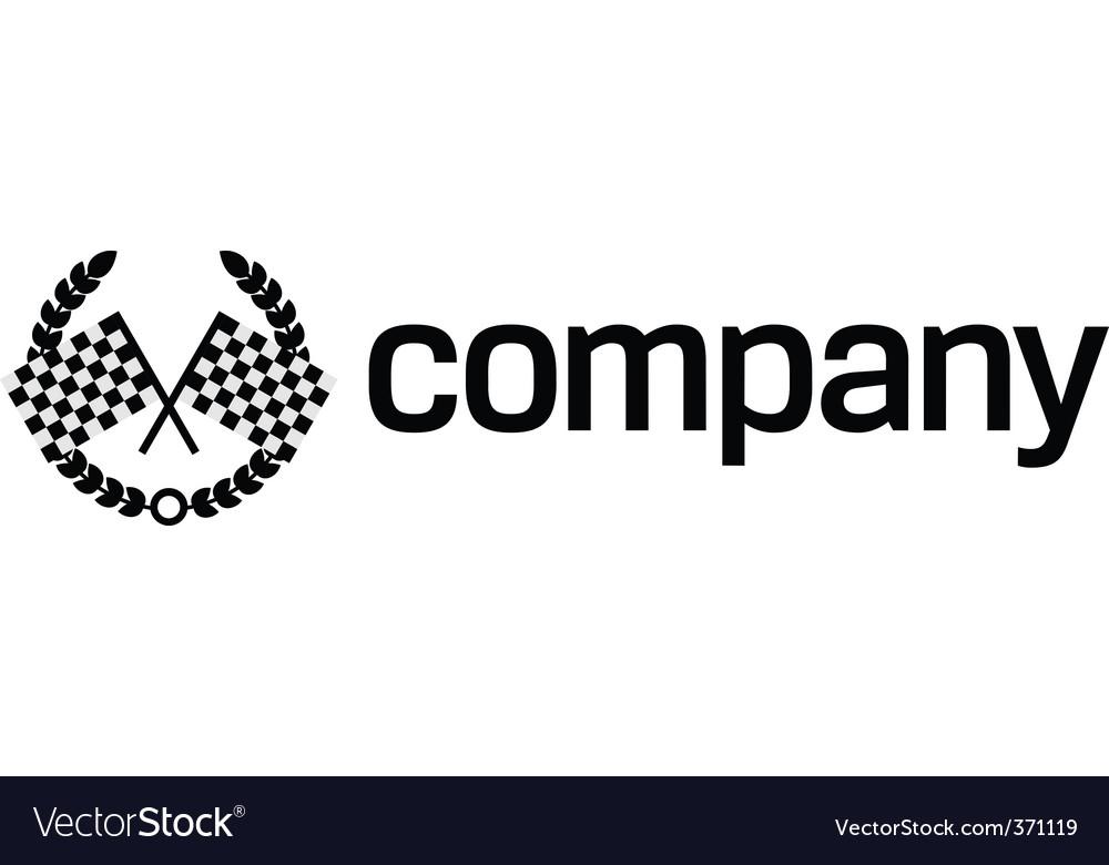 Finish flag logo vector | Price: 1 Credit (USD $1)