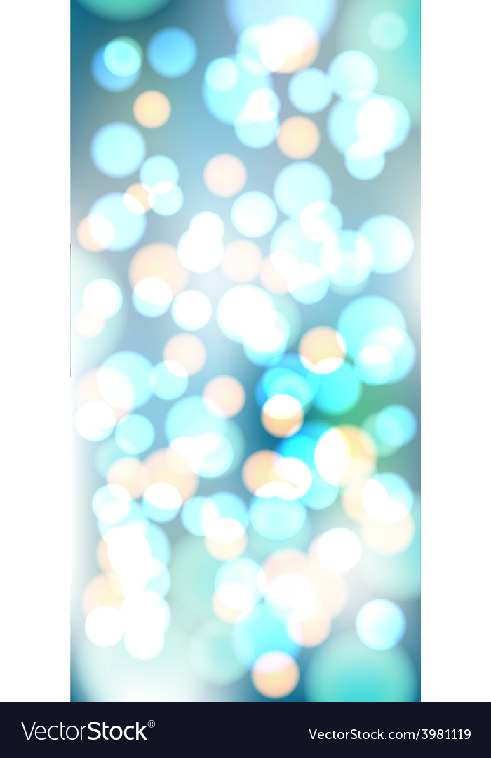 Light blue bokeh background made from white vector | Price: 1 Credit (USD $1)