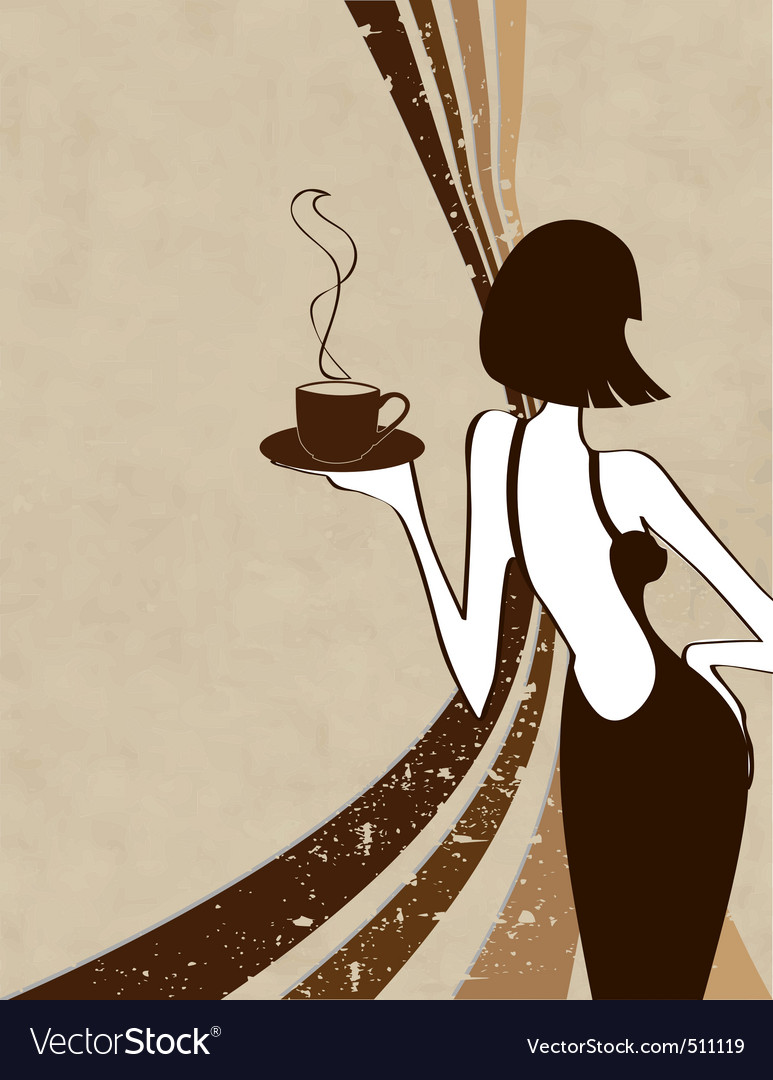 Retro coffee vector | Price: 1 Credit (USD $1)