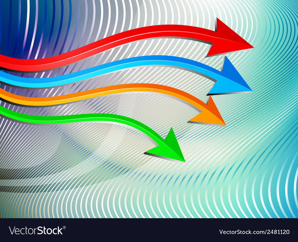 Arrows graph moving vector | Price: 1 Credit (USD $1)