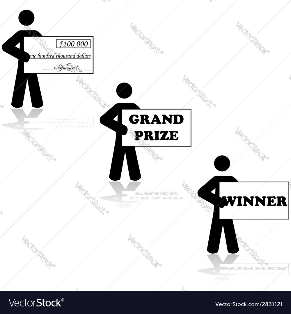 Grand prize winner vector | Price: 1 Credit (USD $1)