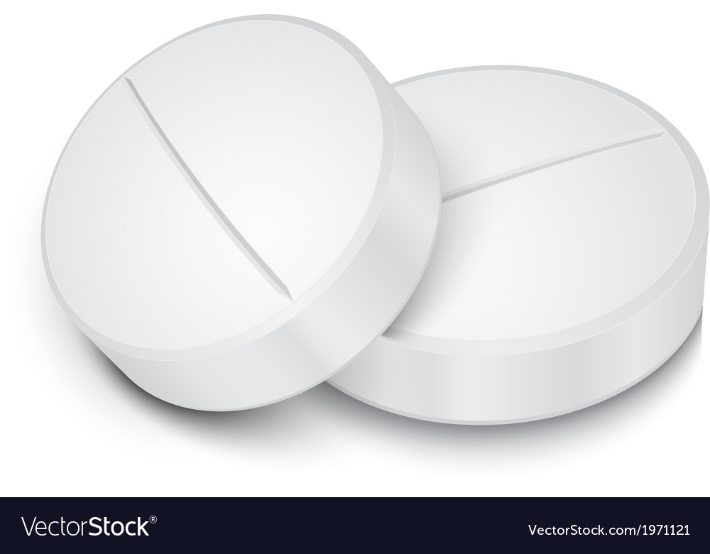 White pill on gray background vector | Price: 1 Credit (USD $1)