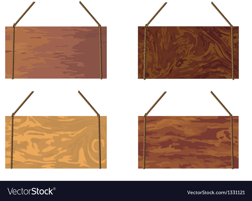 Wooden sign vector | Price: 1 Credit (USD $1)