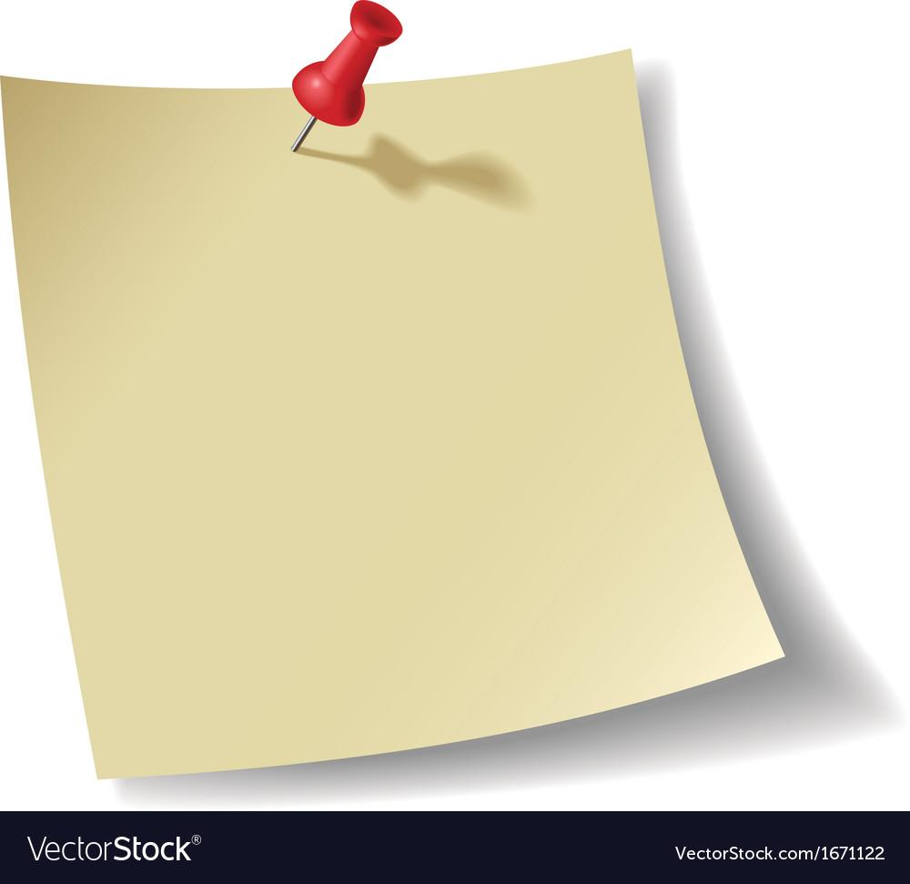 Note pad vector | Price: 1 Credit (USD $1)