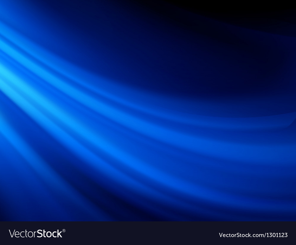 Blue smooth twist light lines background eps 8 vector | Price: 1 Credit (USD $1)