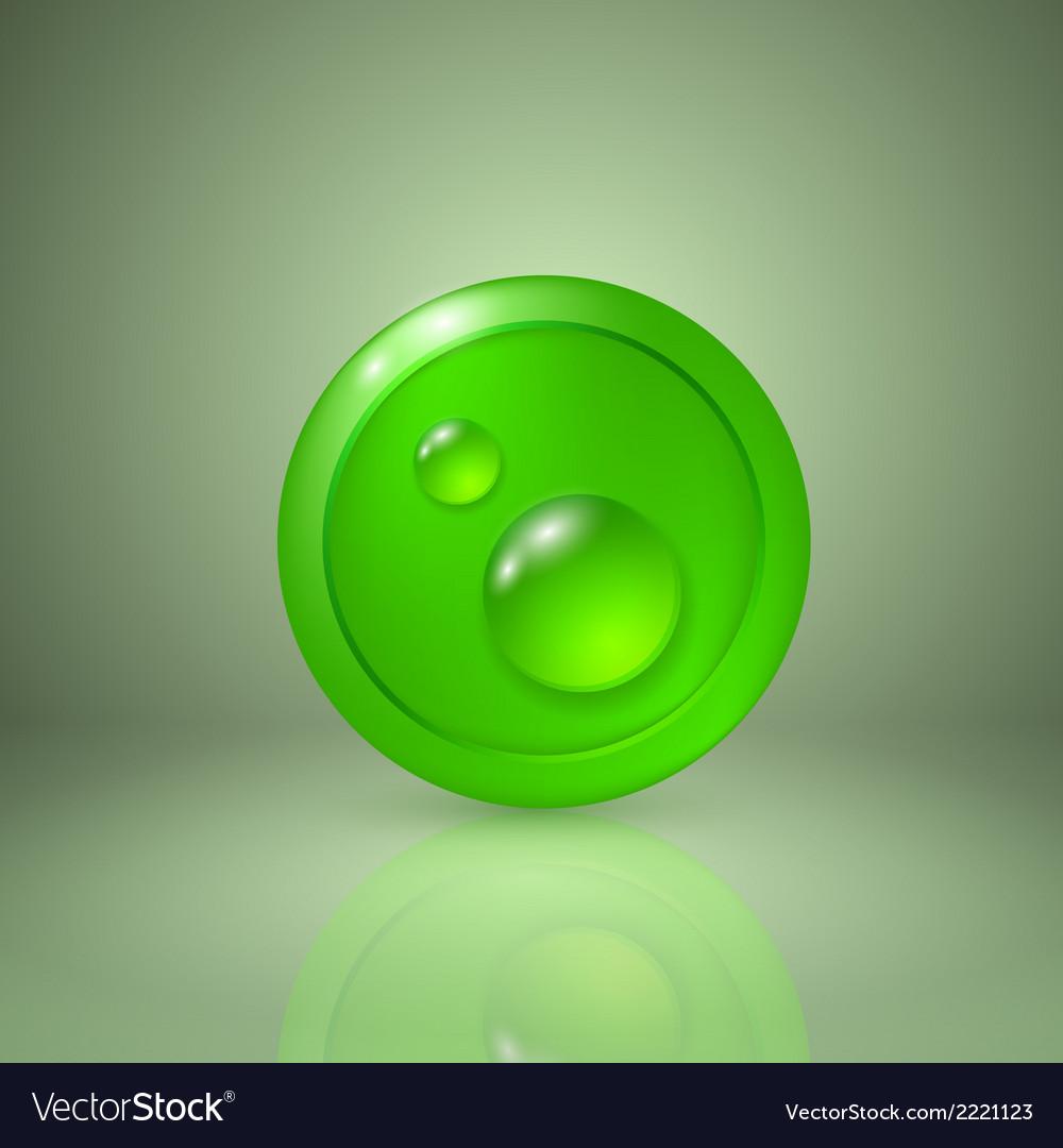 Drop of dew vector   Price: 1 Credit (USD $1)