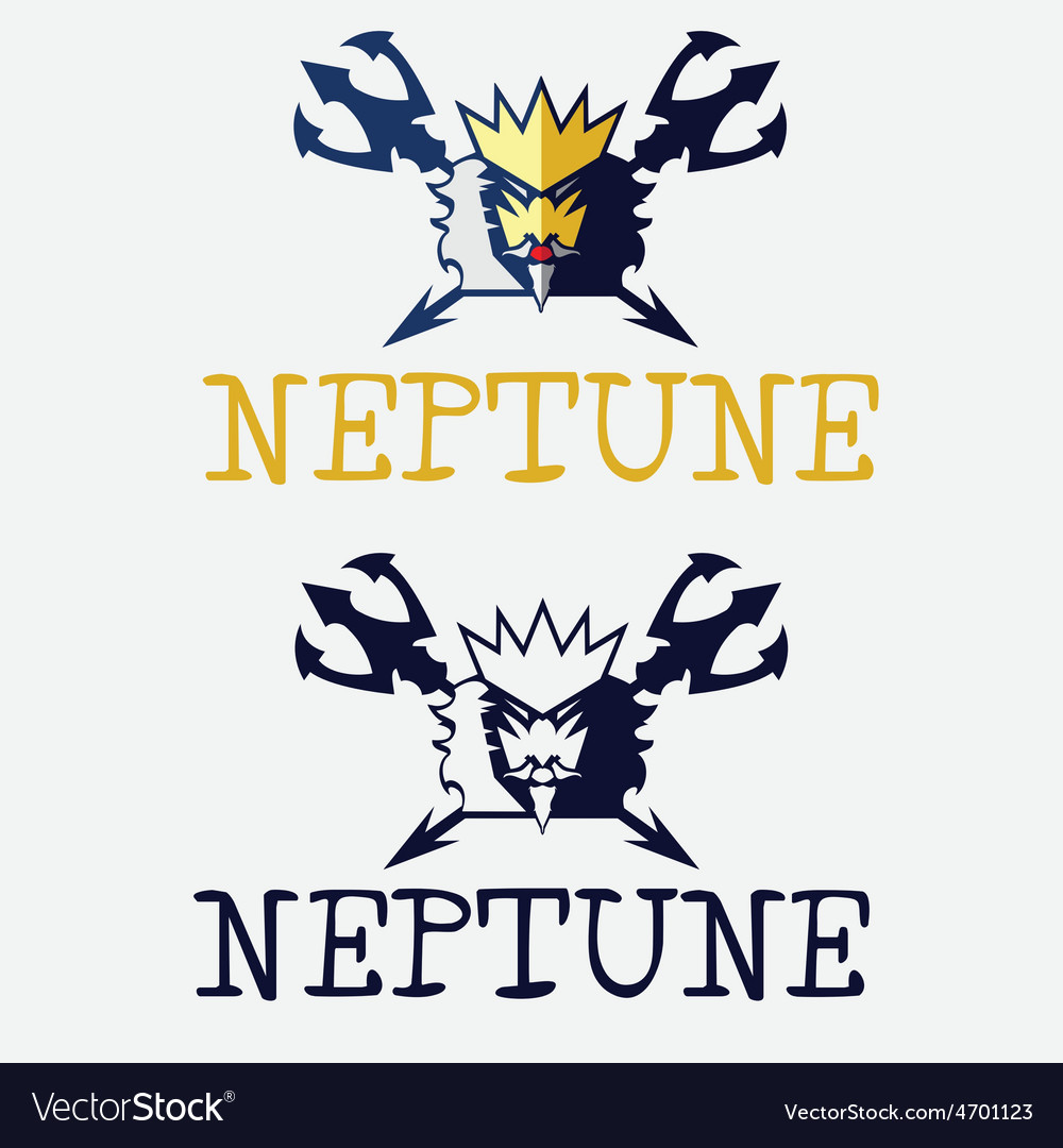 King of sea neptune vector | Price: 1 Credit (USD $1)