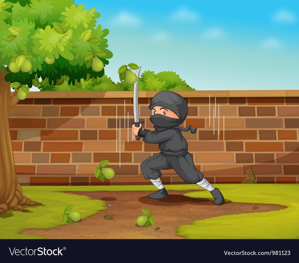 Ninja vector | Price: 3 Credit (USD $3)