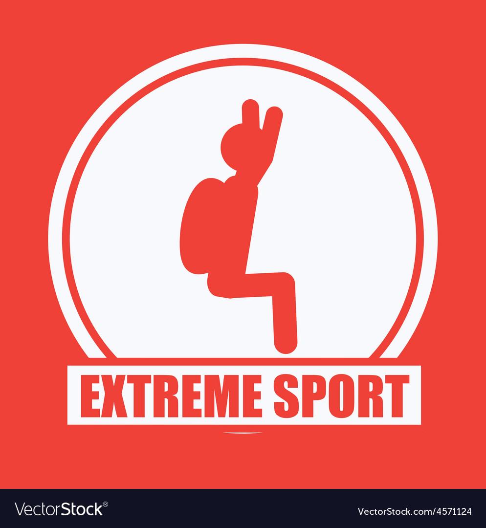 Extreme sport design vector | Price: 1 Credit (USD $1)