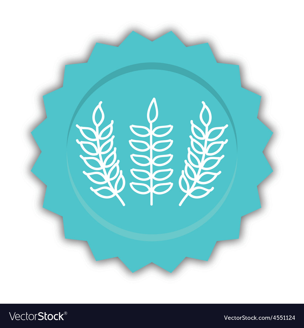 Gluten product vector | Price: 1 Credit (USD $1)