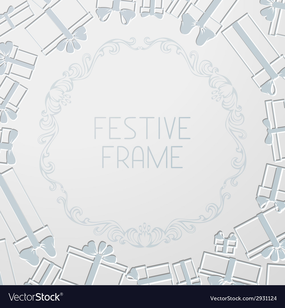 Paper festive background vector | Price: 1 Credit (USD $1)