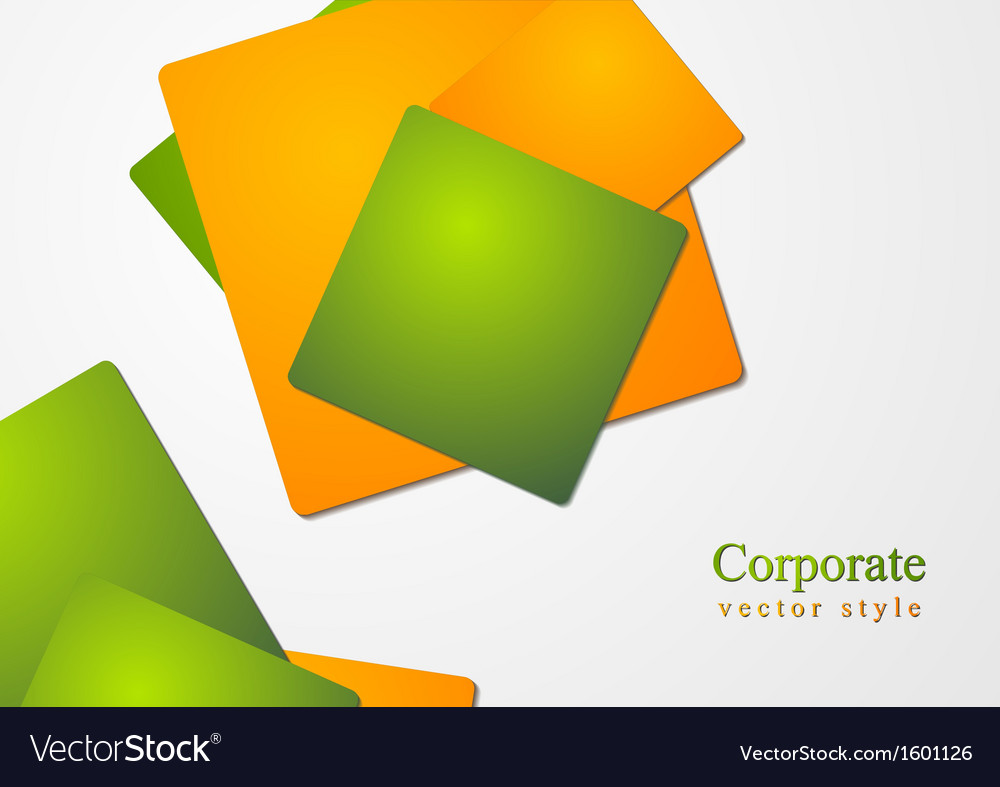 Abstract business corporate design vector | Price: 1 Credit (USD $1)
