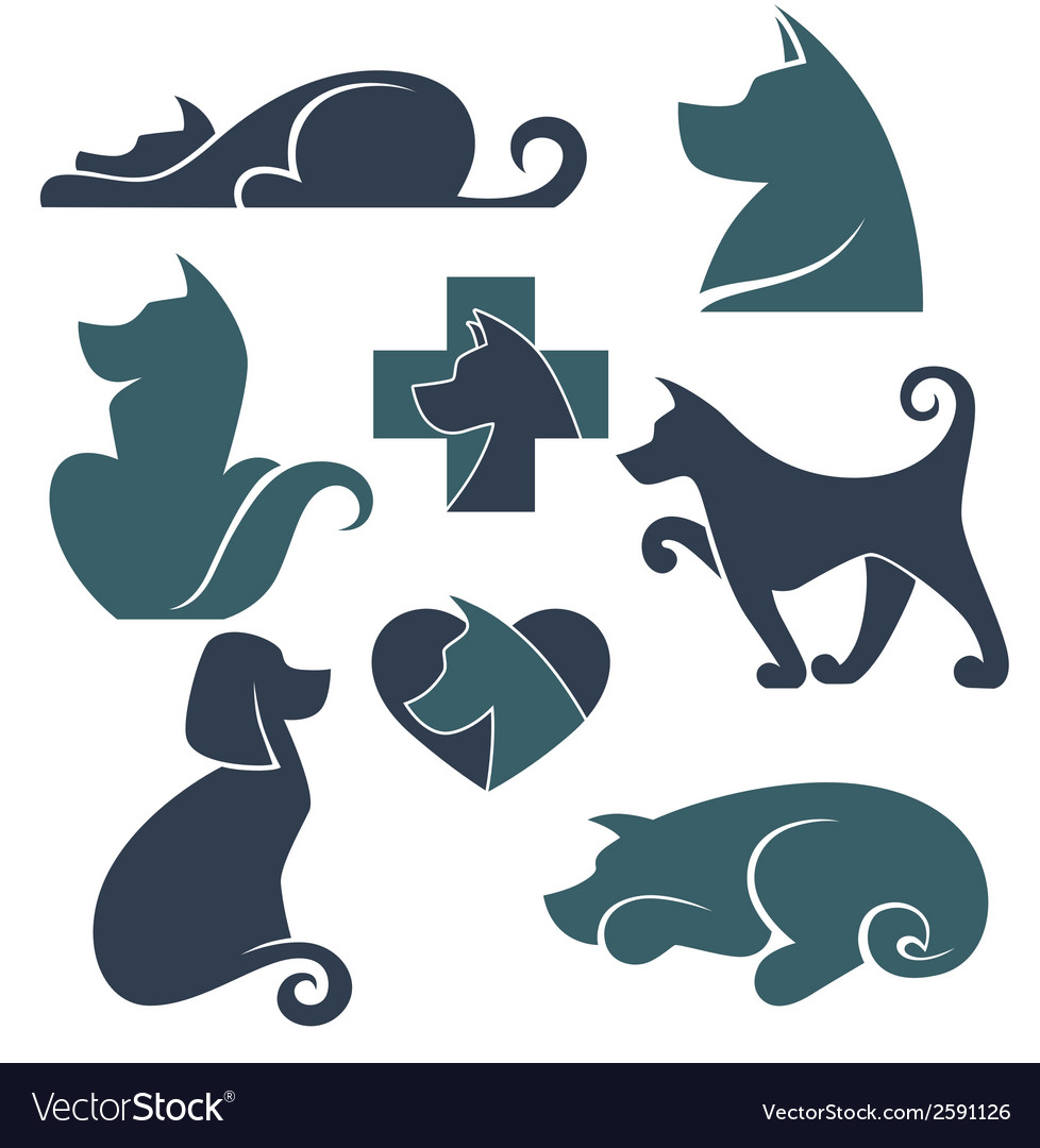 Dogs collection vector | Price: 1 Credit (USD $1)