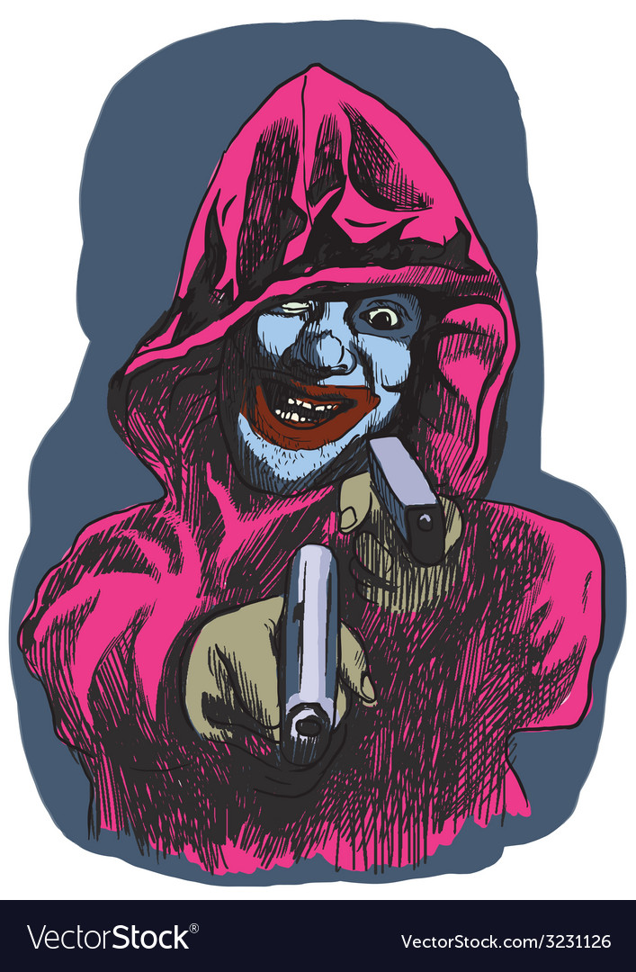 From beyond series psycho killer vector   Price: 1 Credit (USD $1)
