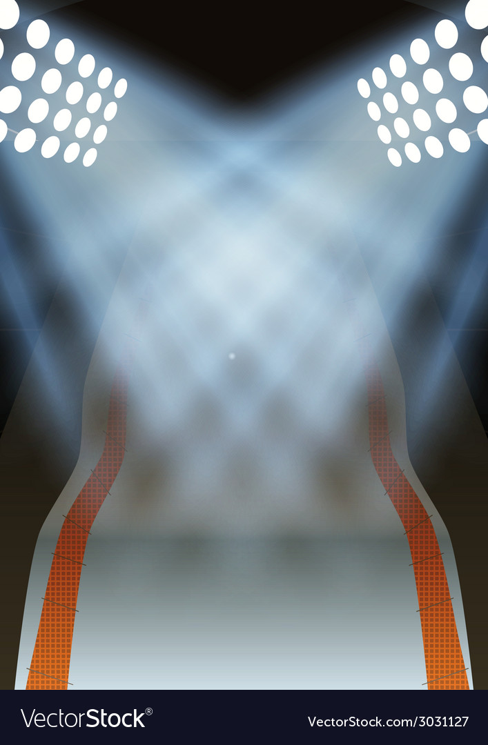 Background for posters night winter game stadium vector | Price: 1 Credit (USD $1)