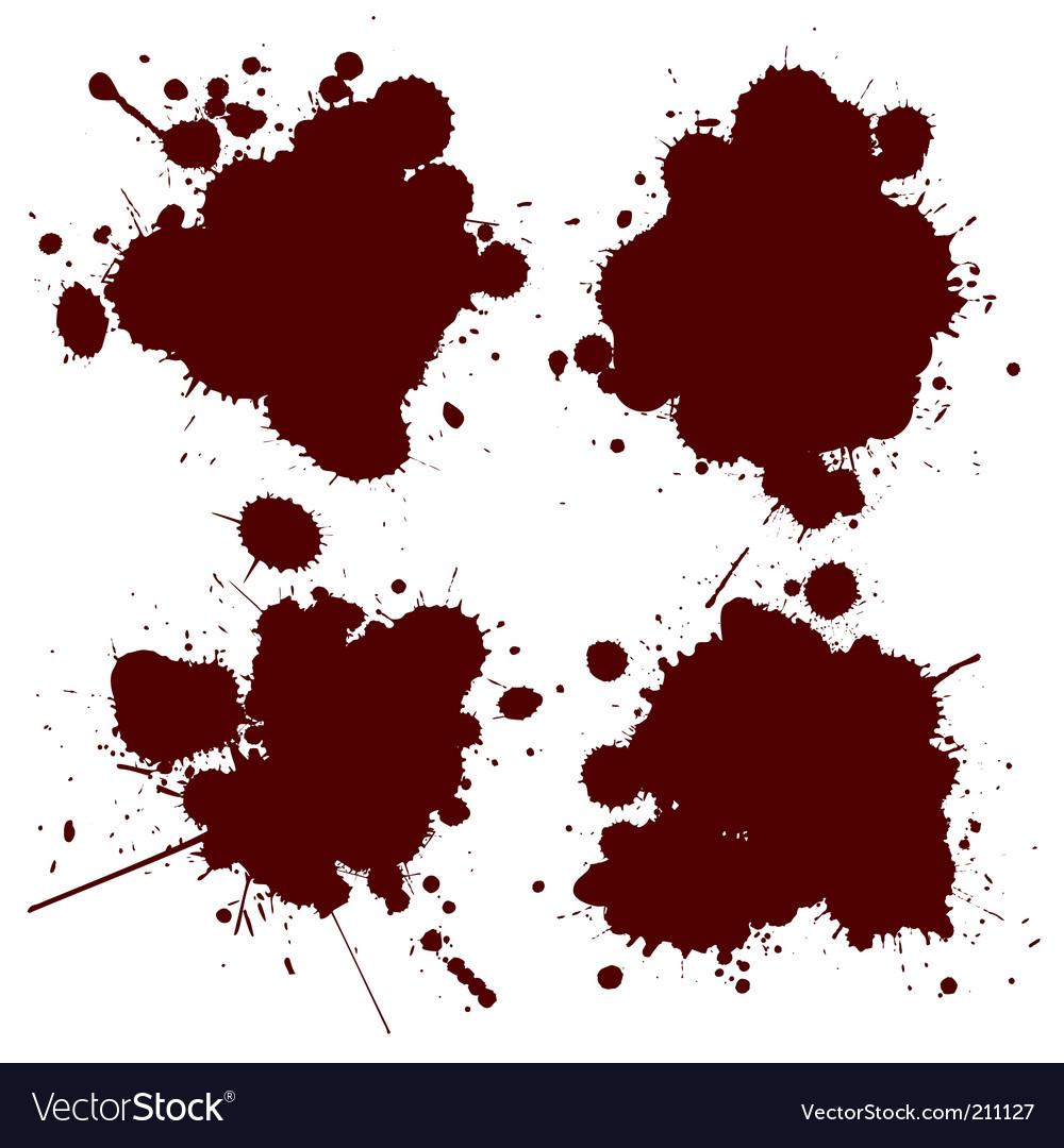 Blood splat vector | Price: 1 Credit (USD $1)