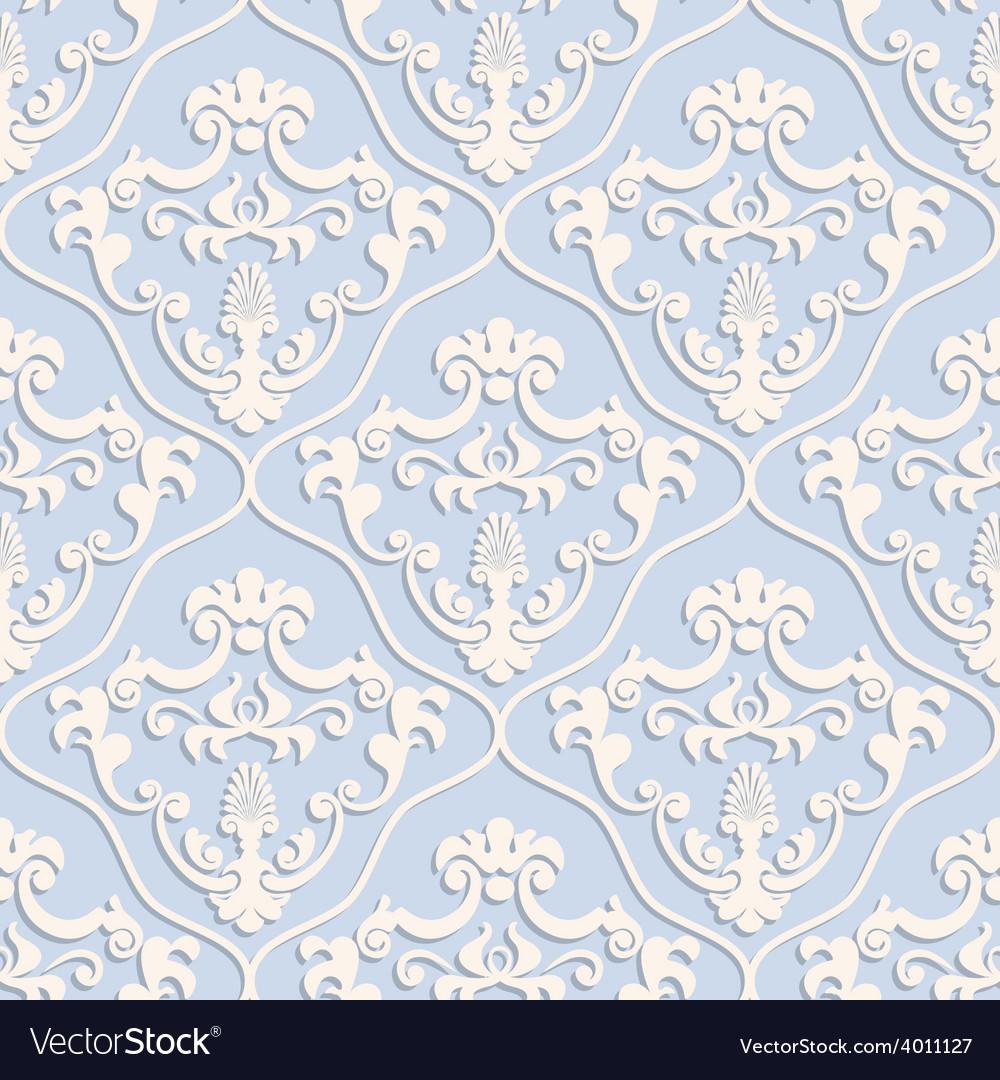 Seamless classic design wallpaper vector | Price: 1 Credit (USD $1)
