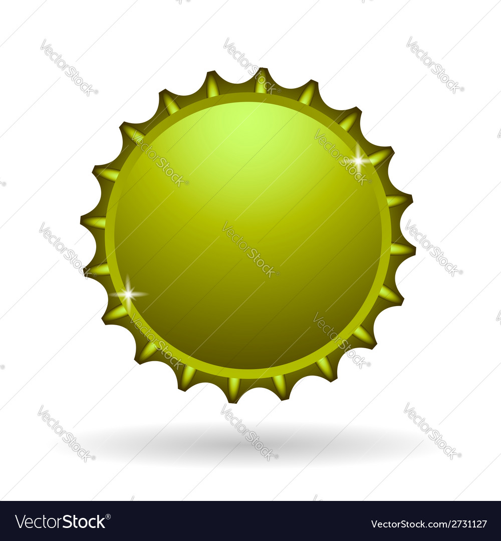 Yellow cap icon vector | Price: 1 Credit (USD $1)