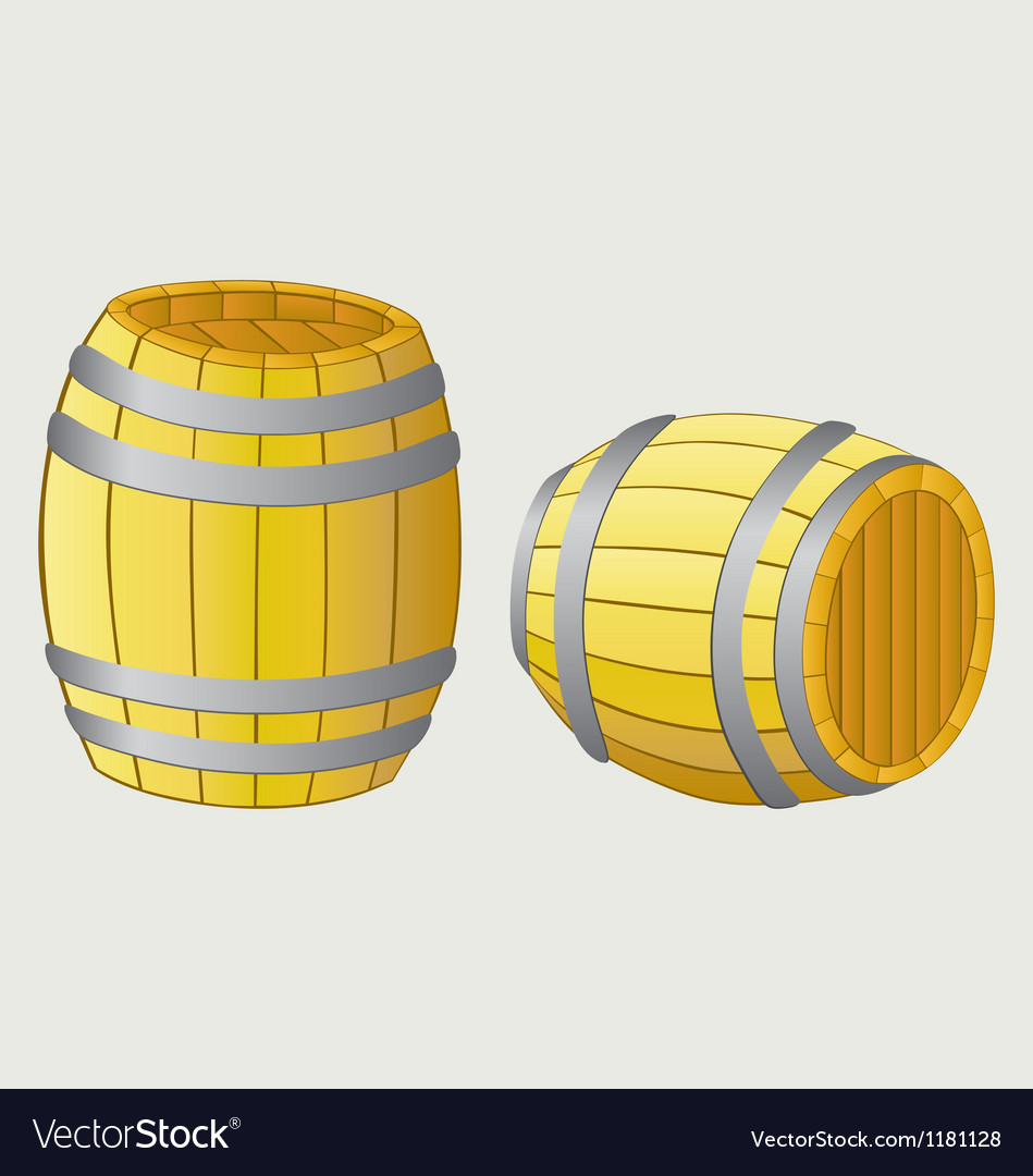 Beer barrels vector | Price: 1 Credit (USD $1)