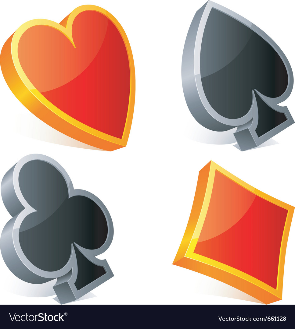 Card suits vector   Price: 1 Credit (USD $1)