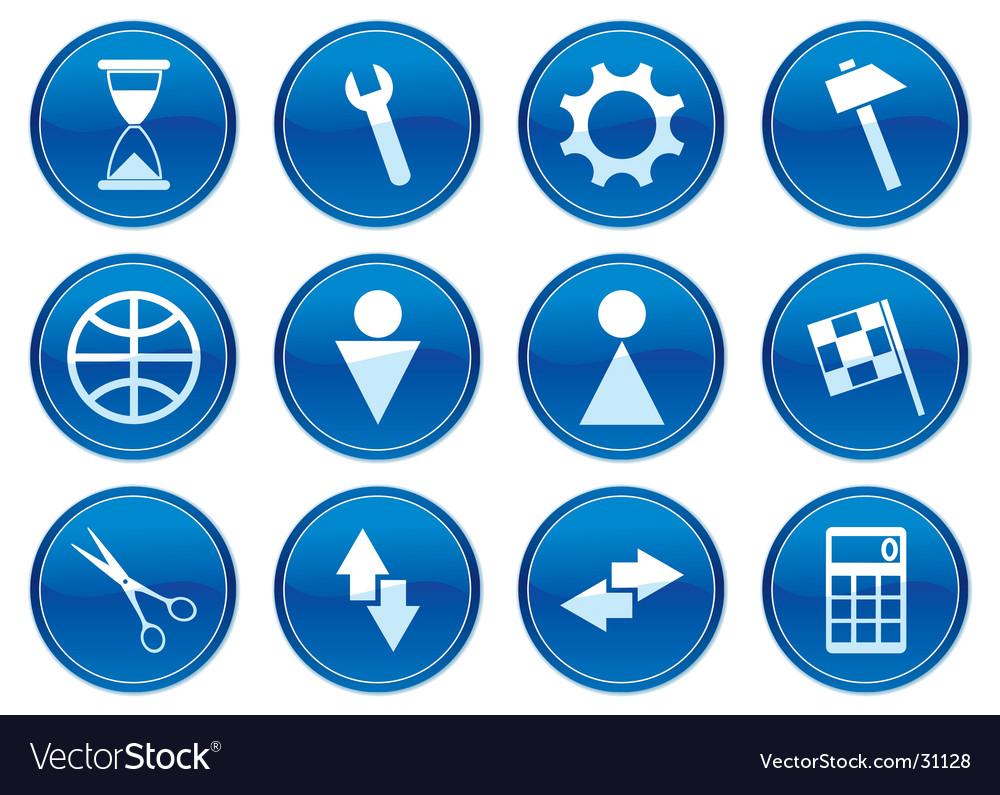 Gadget icons vector | Price: 1 Credit (USD $1)