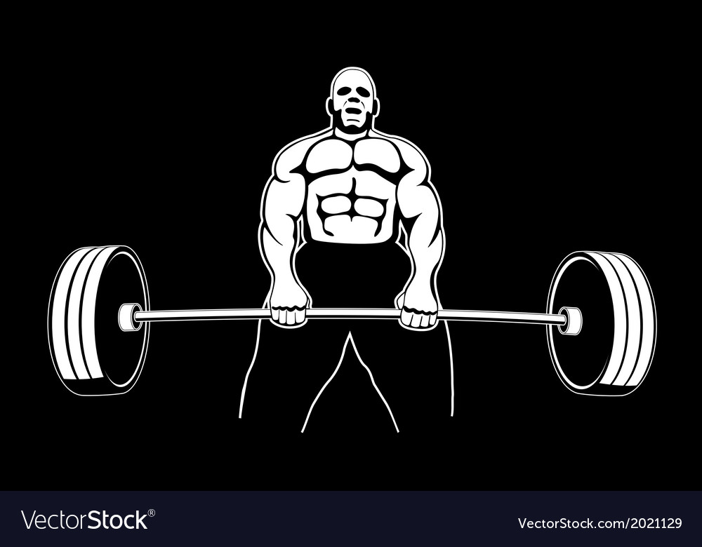 Body builder 3 vector | Price: 1 Credit (USD $1)