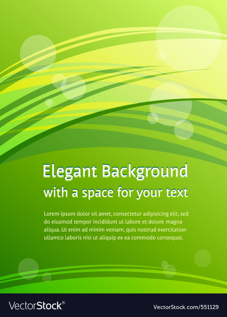 Green brochure design vector | Price: 1 Credit (USD $1)