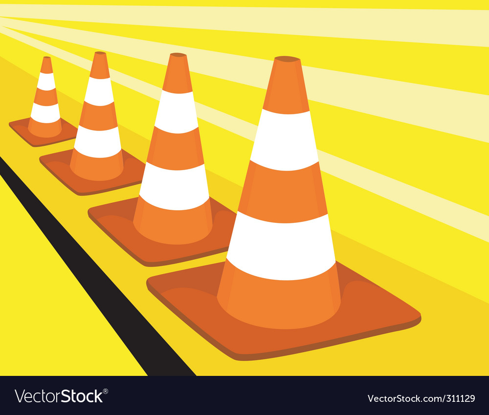 Road divider vector | Price: 1 Credit (USD $1)