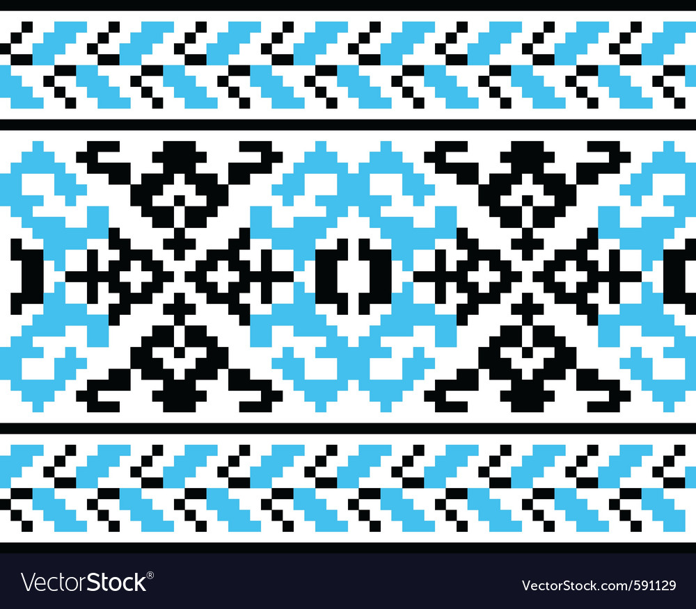 Ukrainian embroidery vector | Price: 1 Credit (USD $1)